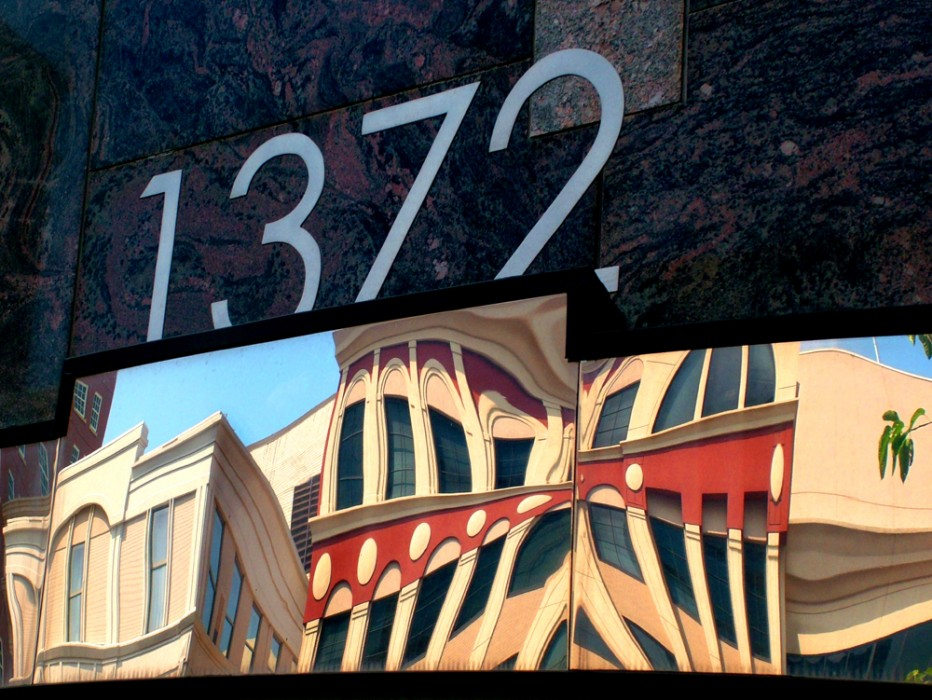 photoblog image My Peachtree Street: Through the Looking Glass