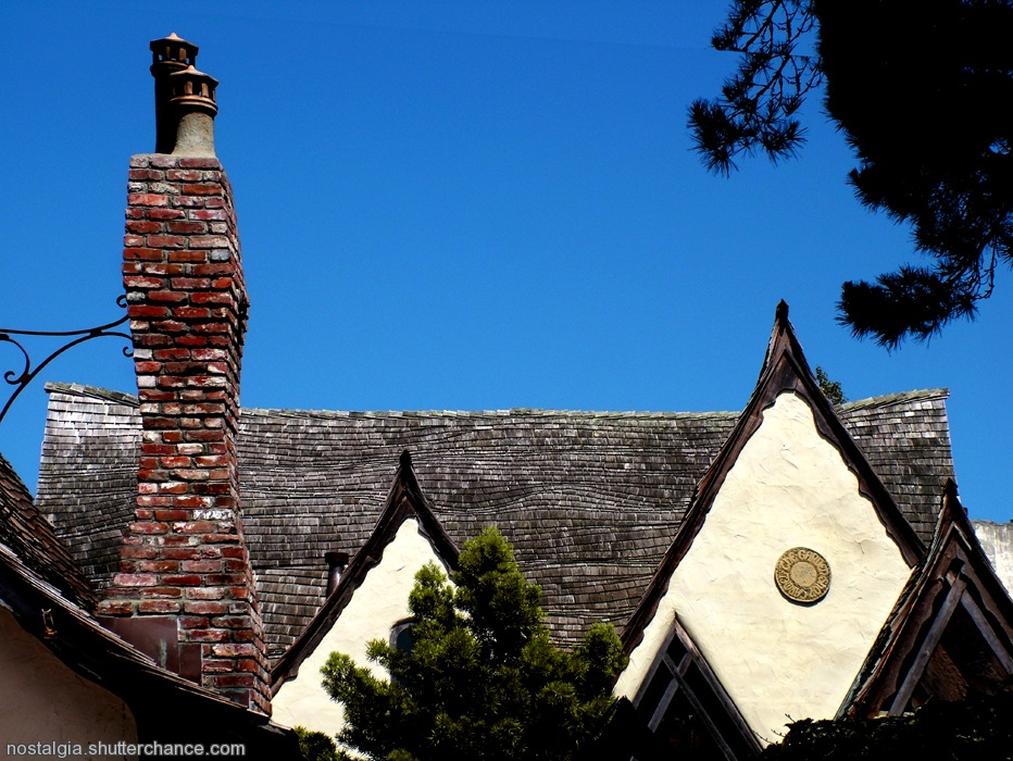 photoblog image Sketches From The West Coast: Roofs of Carmel