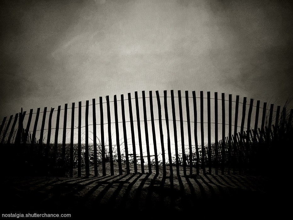 photoblog image Sketches From The Forgotten Coast:Of Fences And Roads